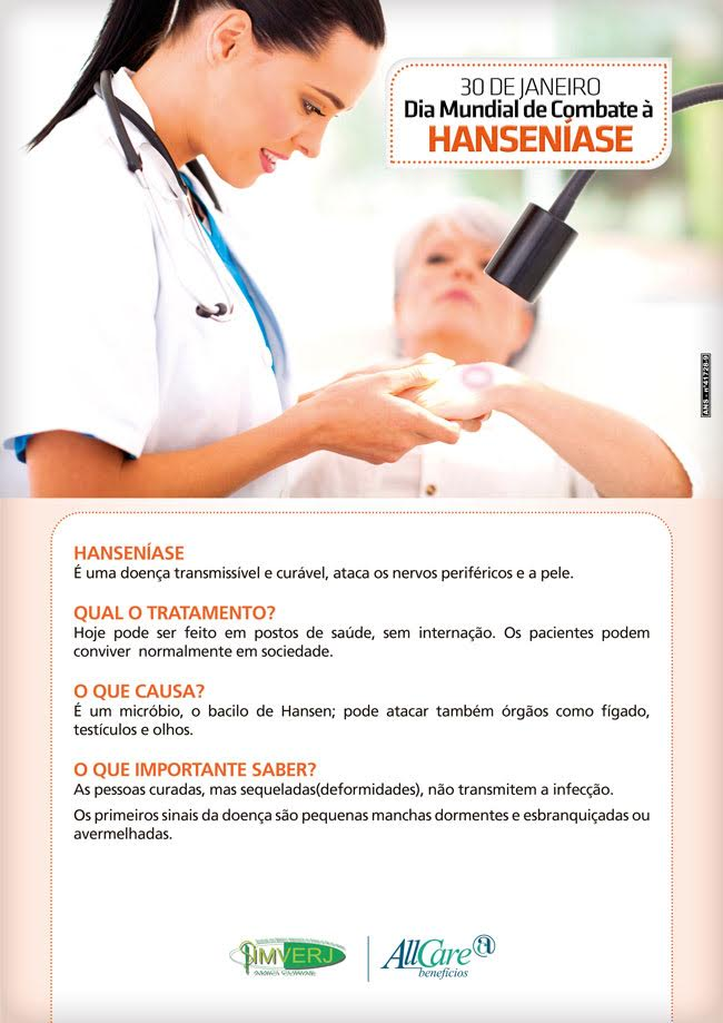 Dia Mundial de Combate à Hanseníase